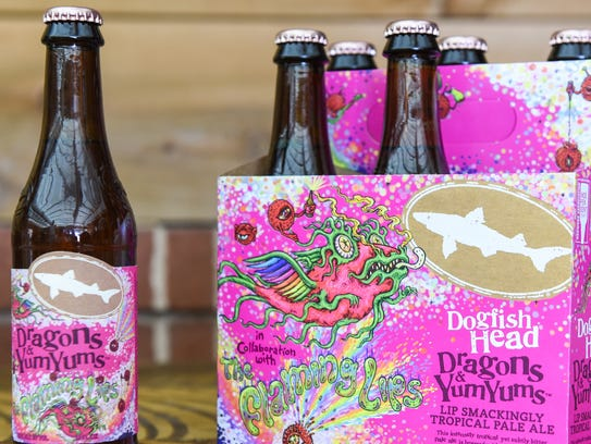 Dogfish Head's collaborative beer with the Grammy Award-winning rock band The Flaming Lips will be released March 23.