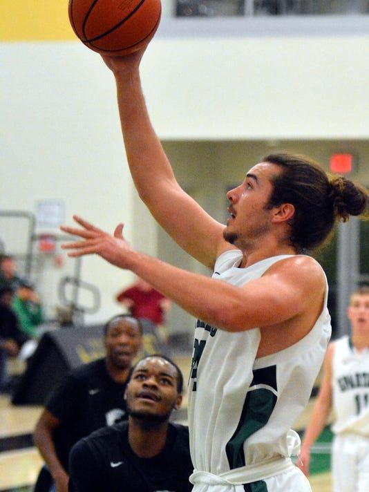 York College vs Wesley College mens' basketball