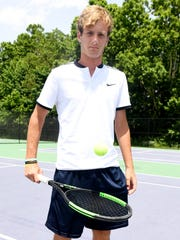 The 2017 All-West Tennessee Boys Tennis Player of the