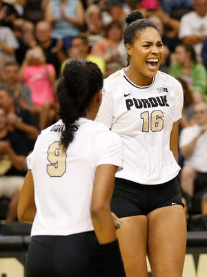 Sherridan Atkinson opened her senior season by winning Most Valuable Player of the Reamer Club Premier tournament at Purdue.