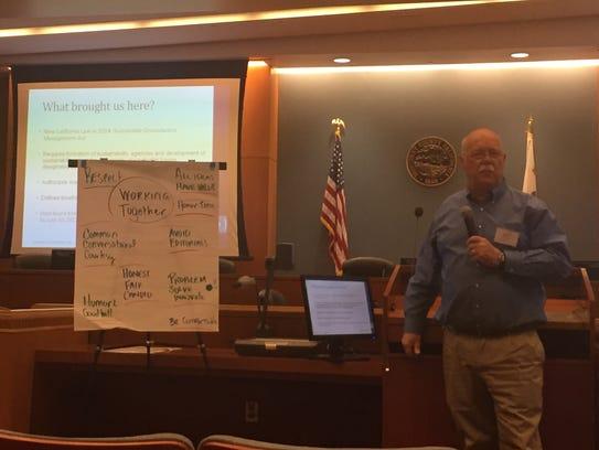 Gary Petersen, the city of Salinas' Public Works Director