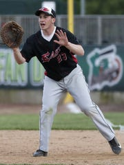 Green Bay East/West's Sam Fonder (23) shouts to his