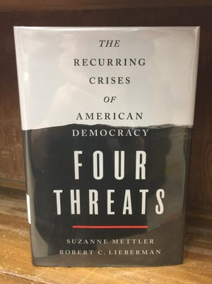 """Four Threats,"" by Suzanne Mettler and Robert C. Lieberman, is now available at the Port Jervis Free Library."