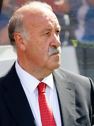 Vincente del Bosque and Spain crashed out of the World Cup in the group stage.