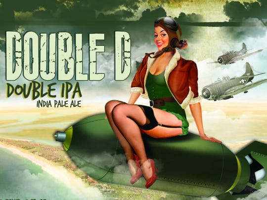 The logo for Fordham & Dominion Brewing's Double D Double IPA.