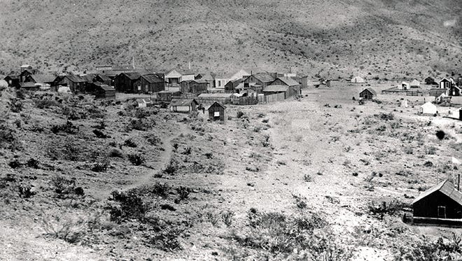 The population of White Hills peaked at 1,500 during the gold and silver boom.