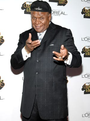 George Wallace arrives at the Loreal Style Stage at the Soul Train Awards 2012 at PH Live at Planet Hollywood Resort & Casino on November 8, 2012 in Las Vegas, Nevada.