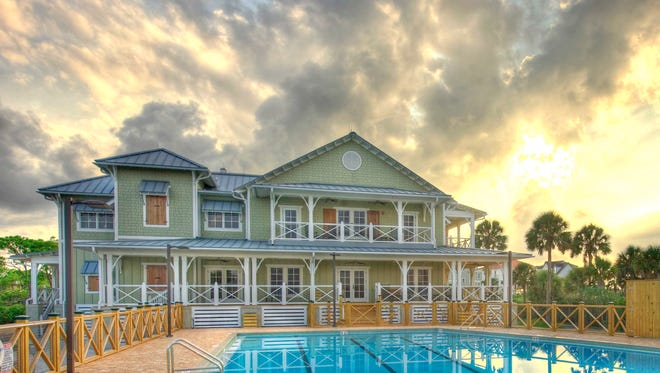 Built in 2010, the St. George Plantation clubhouse and pool are a hub of activity at the residential community, one of the Florida Communities of Excellence for 2014.