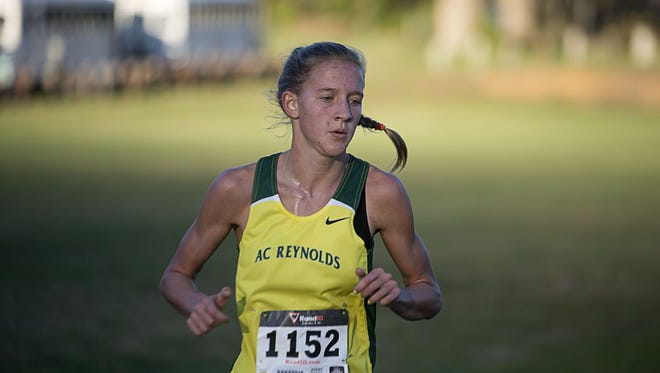 Reynolds senior Anna Vess is the Citizen-Times All-WNC Girls Cross Country Runner of the Year.
