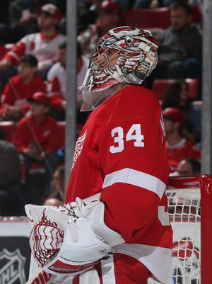 Goalies usually take longer to develop. But Petr Mrazek leads the NHL in save percentage and goals-against average, and he turns 24 today.