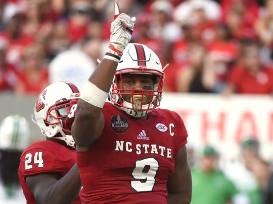 N.C. State DE Bradley Chubb is one of the draft's elite non-quarterback prospects.