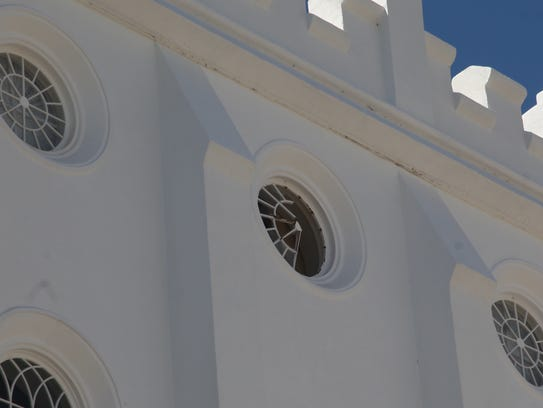 An individual gained access to the St. George LDS temple