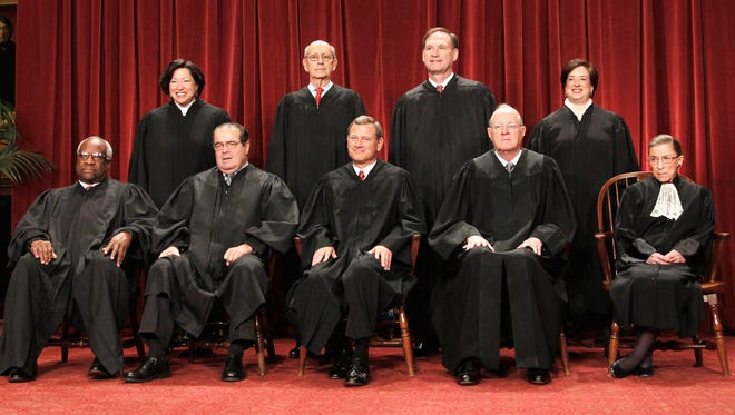 Nearly all of the Supreme Court's justices are millionaires.