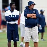 Titans Practice: Aug. 23