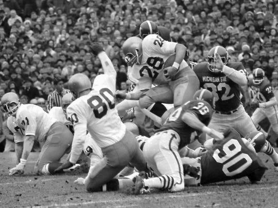 """Game of the Century"", MSU 10, Notre Dame 10, Nov. 19, 1966"