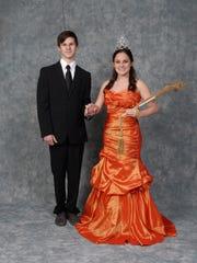 Duke Ethan Saul Harmon and Duchess Katie Marie Duos.