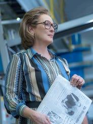 "Meryl Streep  plays Katharine Graham in ""The Post."""