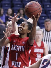 Austin Peay's Tiasha Gray averages 20.4 points per
