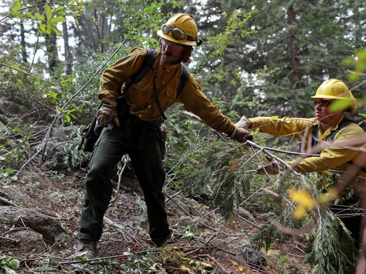 In Yosemite Valley, a new era of using real-time intelligence from the sky to fight fires in dangerous terrain