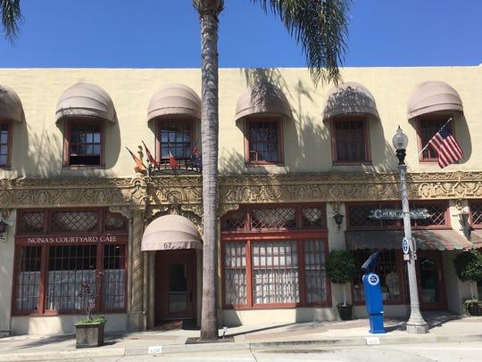 The Bella Maggiore Inn is in downtown Ventura.