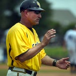 Southern Miss head coach Scott Berry during a Golden Eagle baseball game last year.