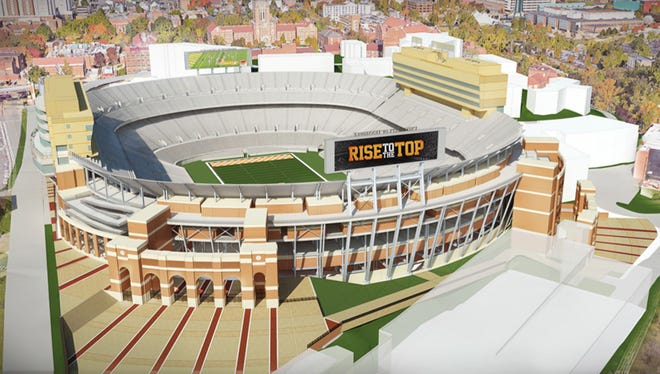 rendering of Neyland Stadium