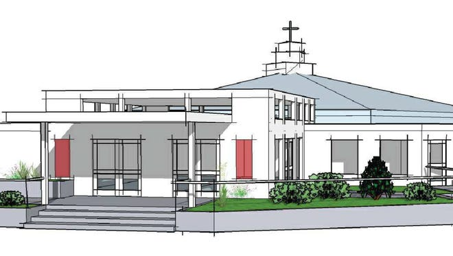 Expansion will give Bremerton Methodist Church a redesigned entrance.