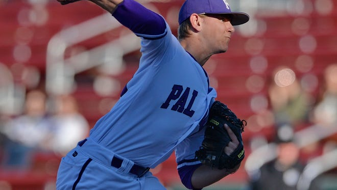 Furman starting pitcher Will Gaddis allowed just one single, no walks and struck out eight Fordham batters in six innings Friday at Fluor Field.