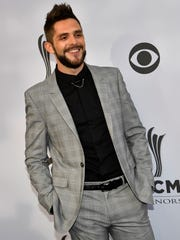 Thomas Rhett is up for six awards at next month's Academy of Country Music Awards.