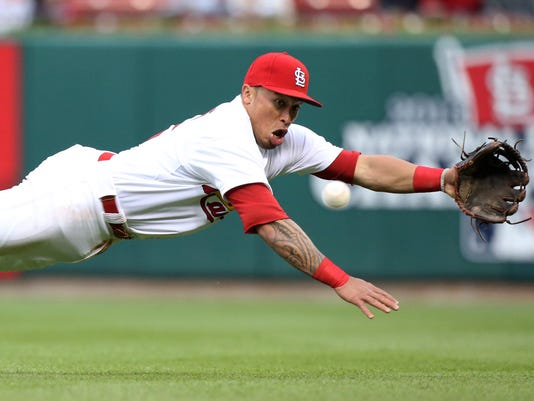 APTOPIX Braves Cardinals Baseball