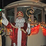 Kingston's Sinterklaas parade features the great Hudson River, puppets and more as it moves along Broadway.