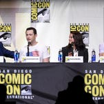 "Joseph Gordon-Levitt attends the ""Snowden"" press line during Comic-Con on Thursday."