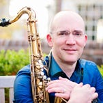 "Michael Vance will play tenor saxophone at ""Sound Sketch: An SUU Jazz Band Concert."""