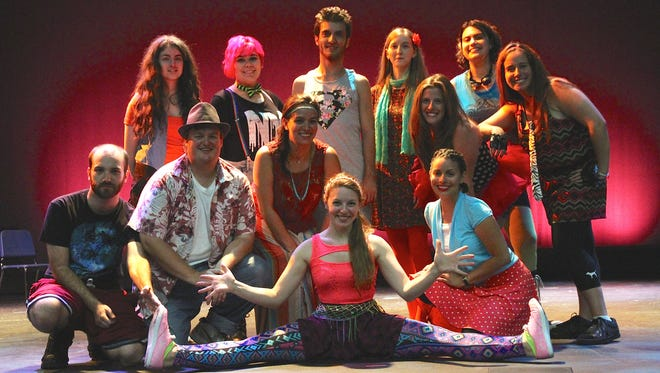 """Godspell"" will be staged at North Rockland High School this week."