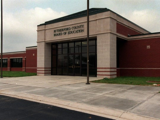 The Rutherford County Board of Education office