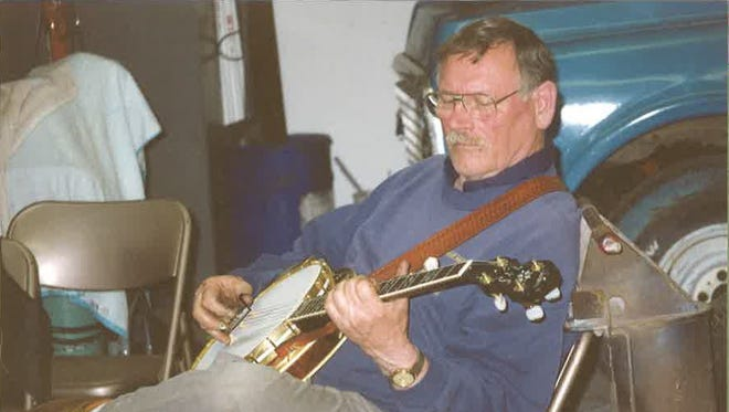 Raymond Correll played the five-string banjo in his free time.