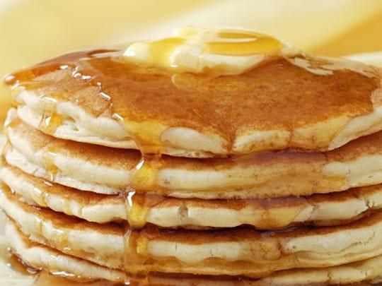 St. Andrew's Parish will host Pancake Feast & Bake Sale Sunday at Neises Hall in Rozellville.