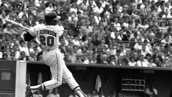 Frank Robinson won the triple crown in 1966, ushering in a dynasty in Baltimore.