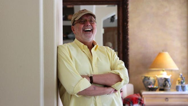 "James Frawley, who directed 1979's live-action film ""The Muppet Movie,"" is photographed at his Indian Wells home."