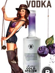 Huckleberry vodka