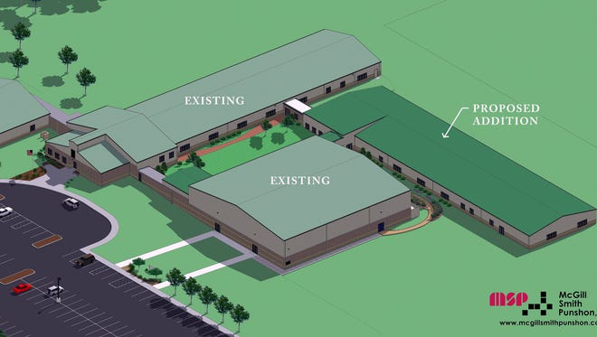 Mother Teresa Catholic Elementary School in Liberty Township plans to construct a 16-classroom addition that will open in time for the 2016-17 school year.