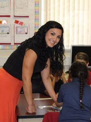 Jenny Parks, an energetic and passionate kindergarten
