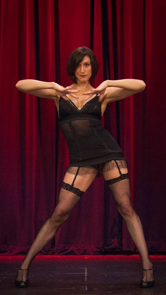 Brynn Tyszka is Sally Bowles in Cabaret