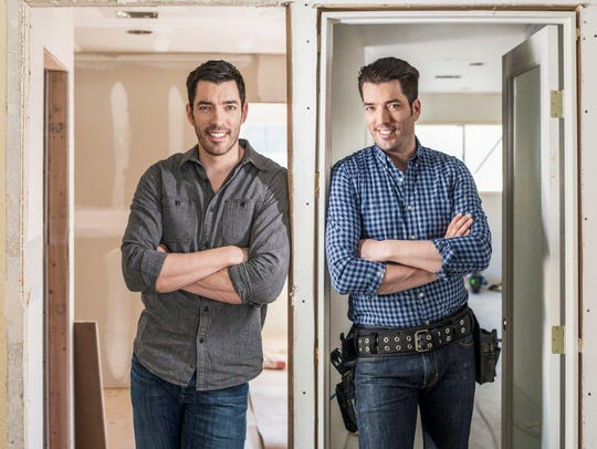 Drew and Jonathan Scott.