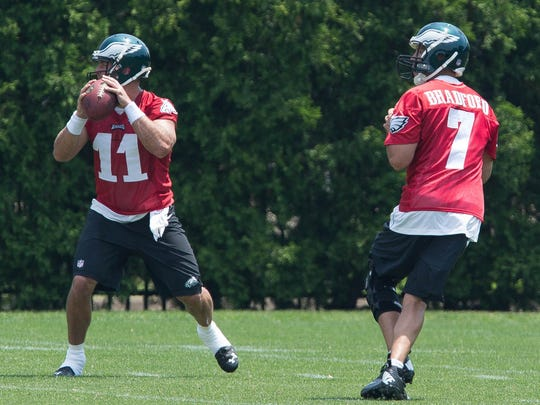 Though the recovering Sam Bradford (7) is the likely