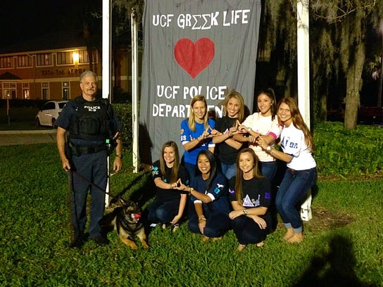UCF's Delta Delta Delta sorority also contributed to