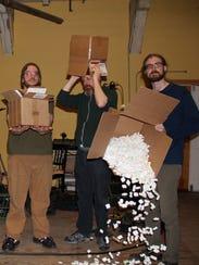 The new free-improvisation band Threes plays Monday