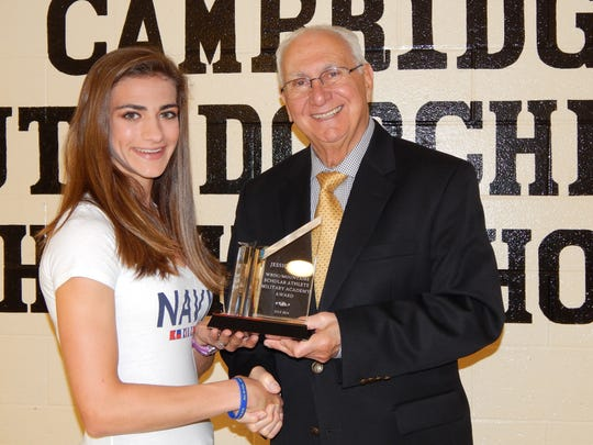Jessica Narr, a new graduate of Cambridge-South Dorchester High School in Cambridge, has been named the Mountaire/WBOC Scholar Athlete of the Month for July 2014.