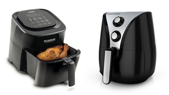 This air fryer is easy to use but cooks unreliably.