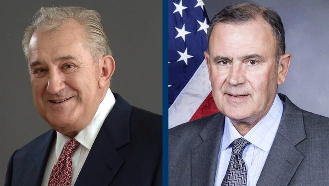Gaming pioneer Donald Carano and political figure Tyrus Cobb will be part of the University of Nevada, Reno graduation ceremonies in May.